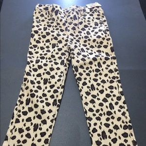 Leopard print pants size 4T Healthtex